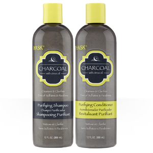 HASK Charcoal with Citrus Oil Purifying Shampoo & Conditioner-0